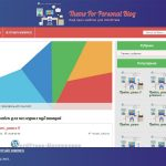 WordPress тема For Personal Blog
