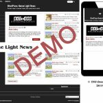 Бесплатная WordPress тема Light News Demo